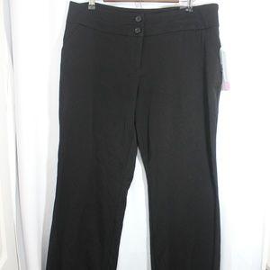 Apt 9 Curvy fit Dress Pants Size 14 NWT